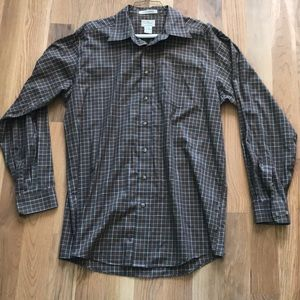 LL BEAN wrinkle resistant button down
